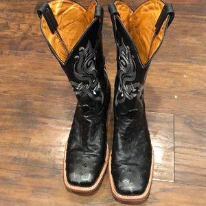 Ostrich Boots 10.5